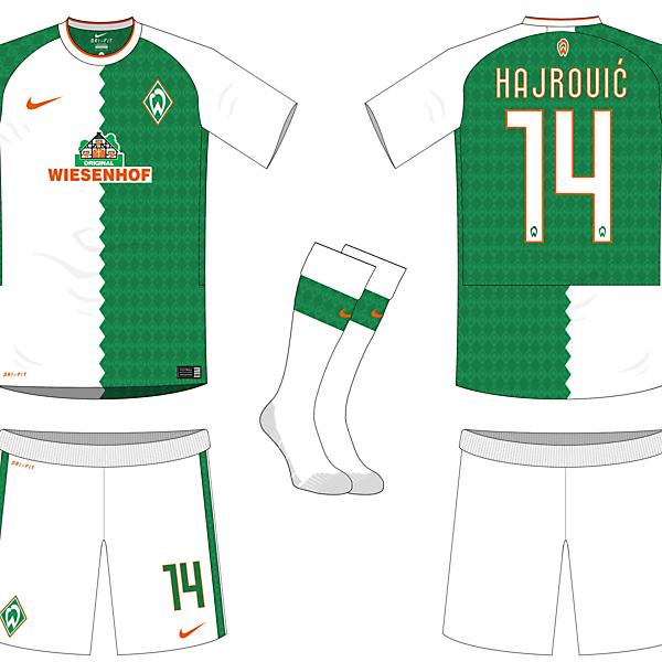 Werder Bremem Home Kit