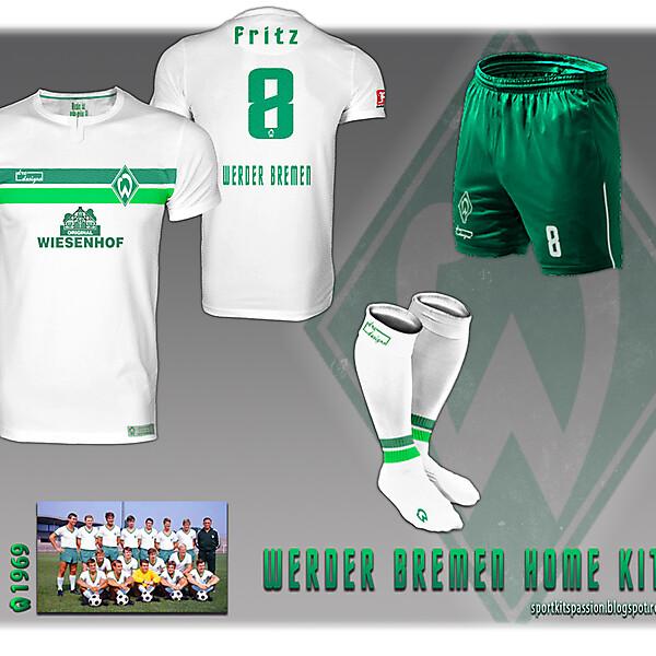 Werder Bremen fantasy kit.