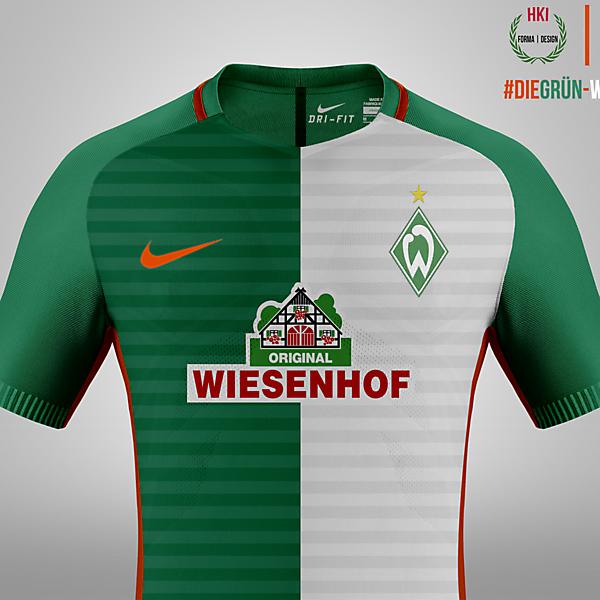Werder Bremen x Nike Concept Home Kit