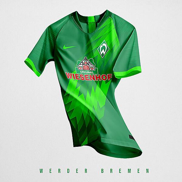 Werder Bremen x Nike Home kit