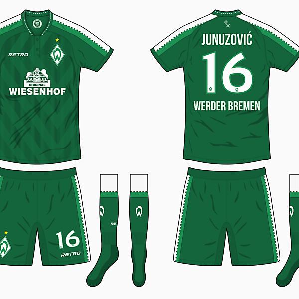 Werder Bremen x Retro - Home Kit