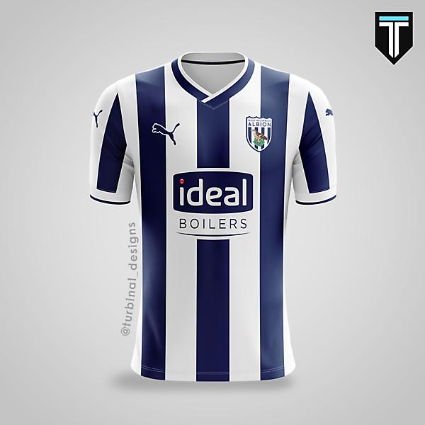 West Bromwich Albion x Puma - Home Kit