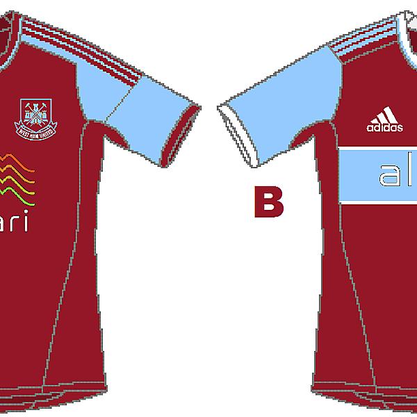 West Ham Adidas Home