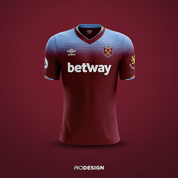 West Ham | Umbro | Home