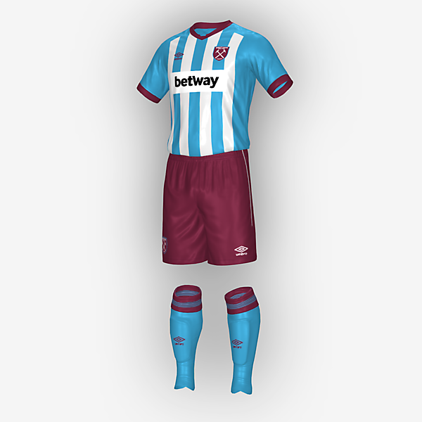 West Ham Away kit 2021/2022