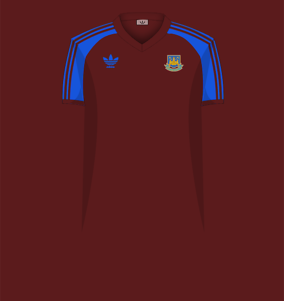 West Ham home 80-83.