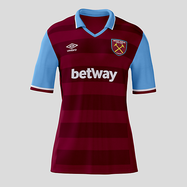 West Ham Home Kit 16-17