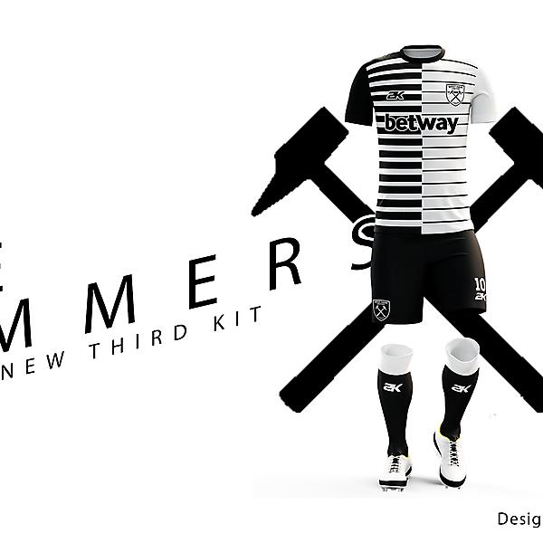 West Ham United - Third kit + Youtube Video !!