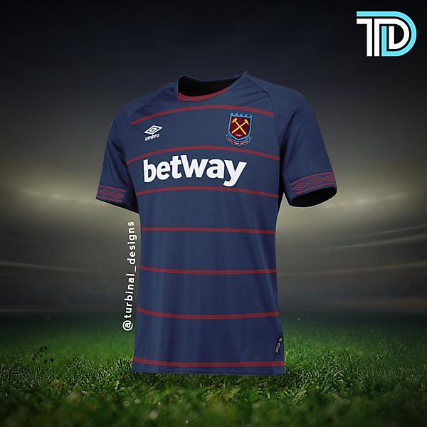 West Ham United Away Kit Concept