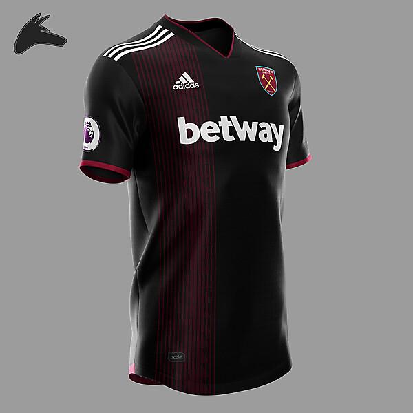 West Ham x Adidas away concept