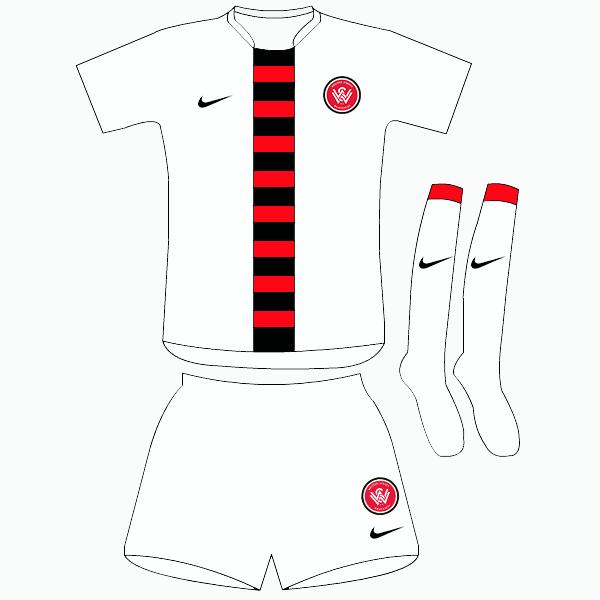 Western Sydney Wanderers - Away Kit