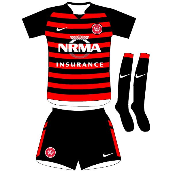 Western Sydney Wanderers - Home Kit