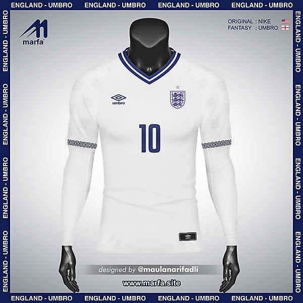 WHAT IF ENGLAND NT JERSEY SPONSORED BY LOCAL APPAREL