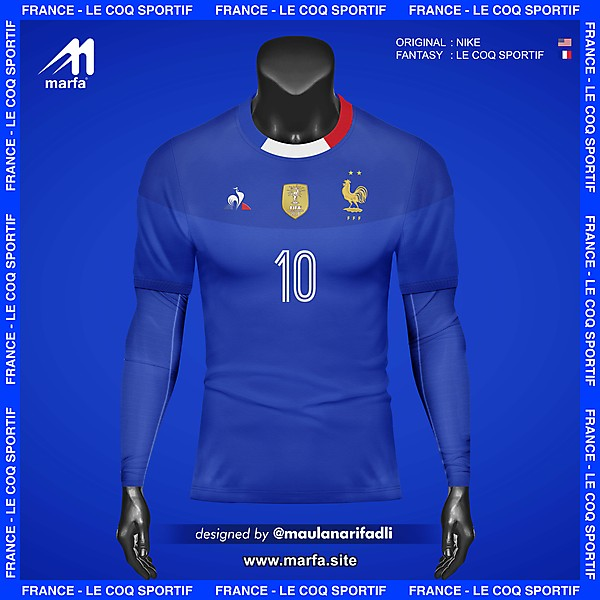 WHAT IF FRANCE NT JERSEY SPONSORED BY LOCAL APPAREL