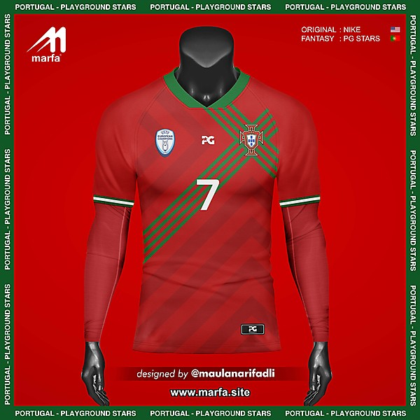WHAT IF PORTUGAL NT JERSEY SPONSORED BY LOCAL APPAREL