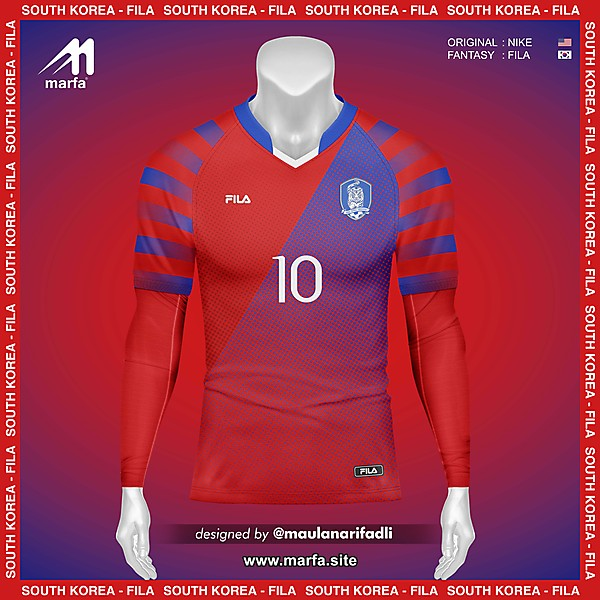 WHAT IF SOUTH KOREA NT JERSEY SPONSORED BY LOCAL APPAREL