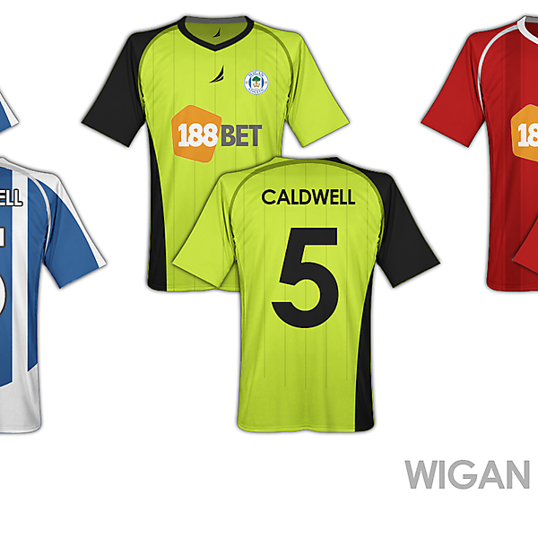 Wigan Fantasy Shirts