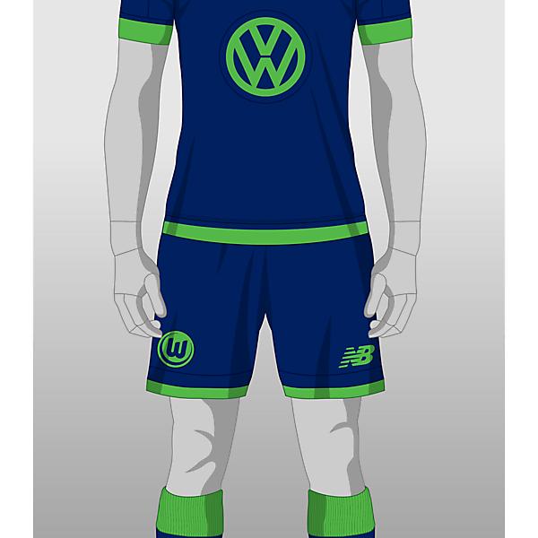 Wolfsburg Third kit