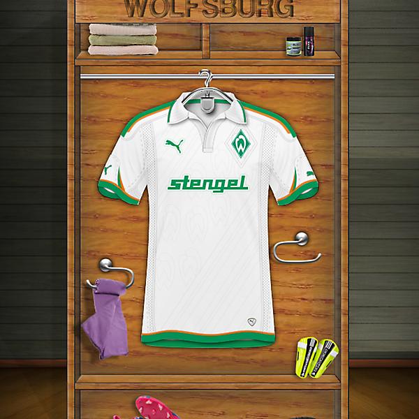 Wolfsburgo Away