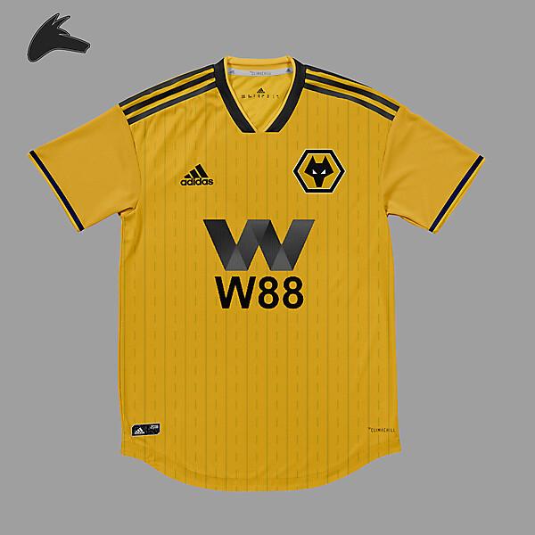 Wolverhampton Wanderers home concept