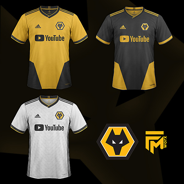 Wolves/Youtube/Adidas Concept