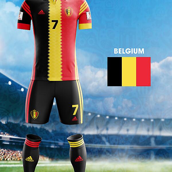 World Cup Flag Kit: BEL