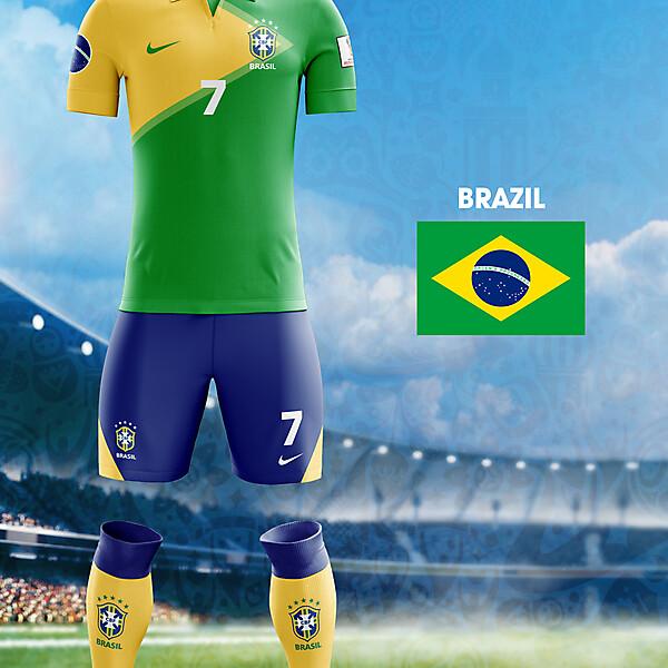 World Cup Flag Kit: BRA