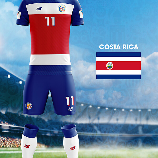 World Cup Flag Kit: COS