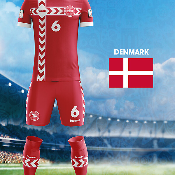 World Cup Flag Kit: DEN