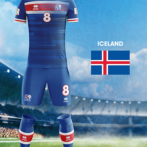 World Cup Flag Kit: ICE