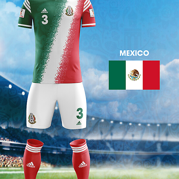 World Cup Flag Kit: MEX