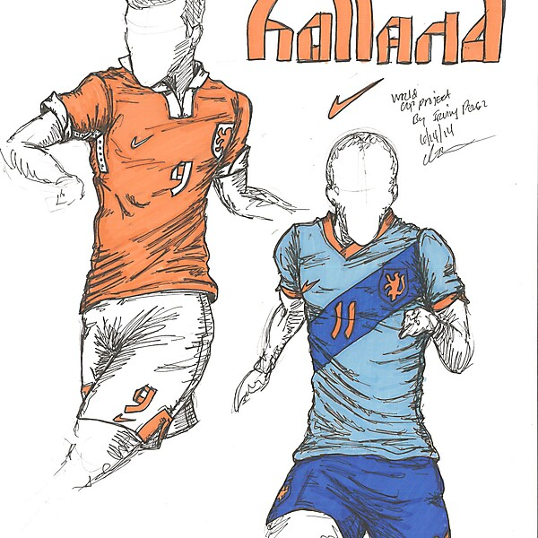 World Cup Project by Irvingperceni - Group B - Holland