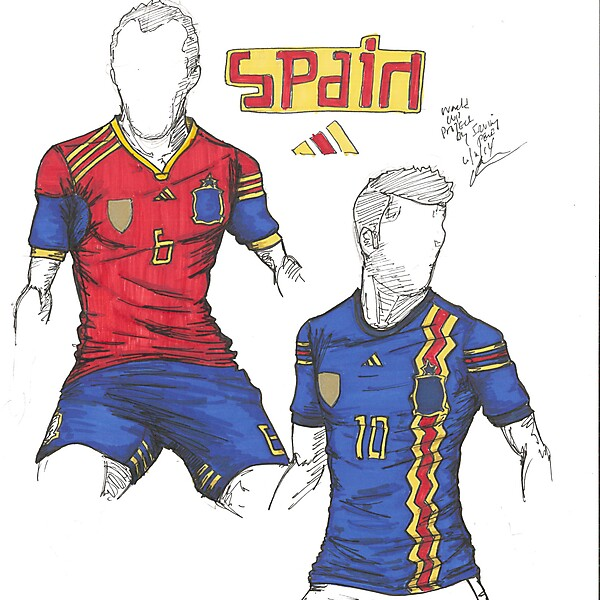 World Cup Project by Irvingperceni - Group B - Spain