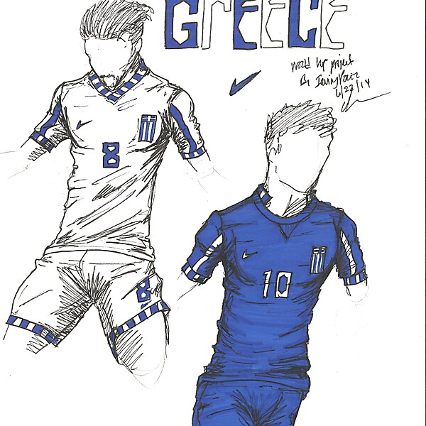 World Cup Project by Irvingperceni - Group C - Greece