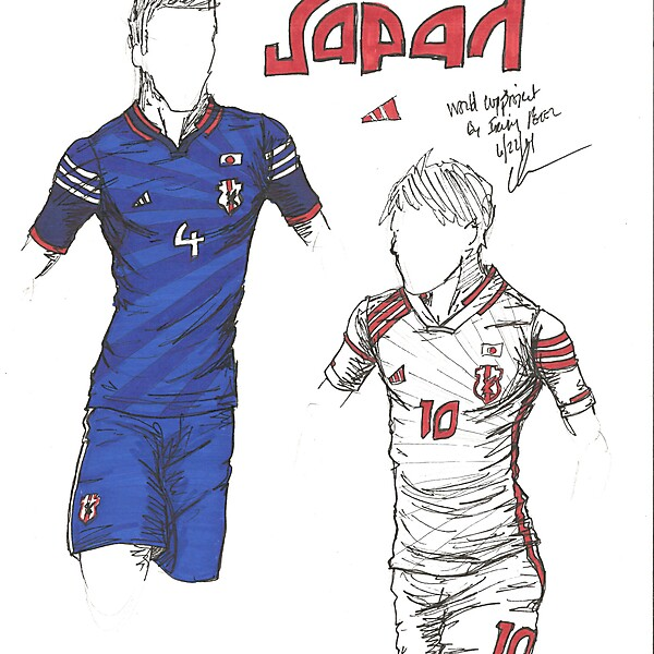 World Cup Project by Irvingperceni - Group C - Japan