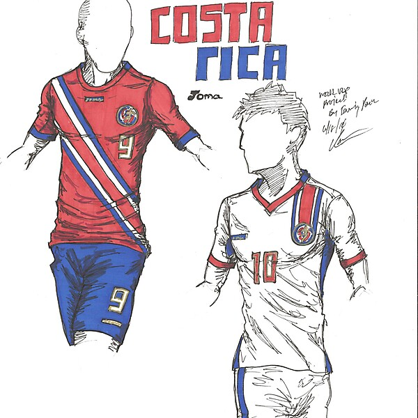 World Cup Project by Irvingperceni - Group D - Costa Rica