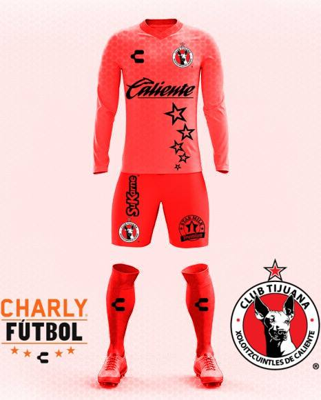 Xolos Charly Home kit 2017/18