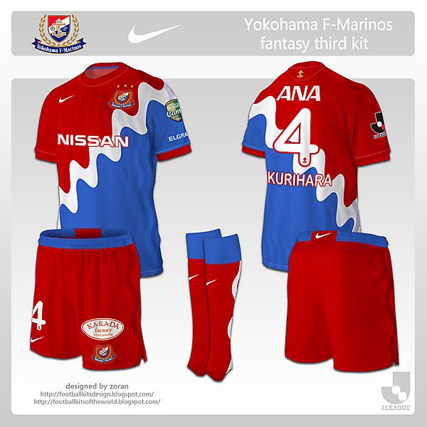 Yokohama F. Marinos fanatsy third