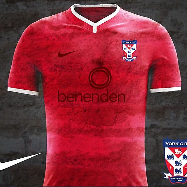 York City FC Home Kit Concept