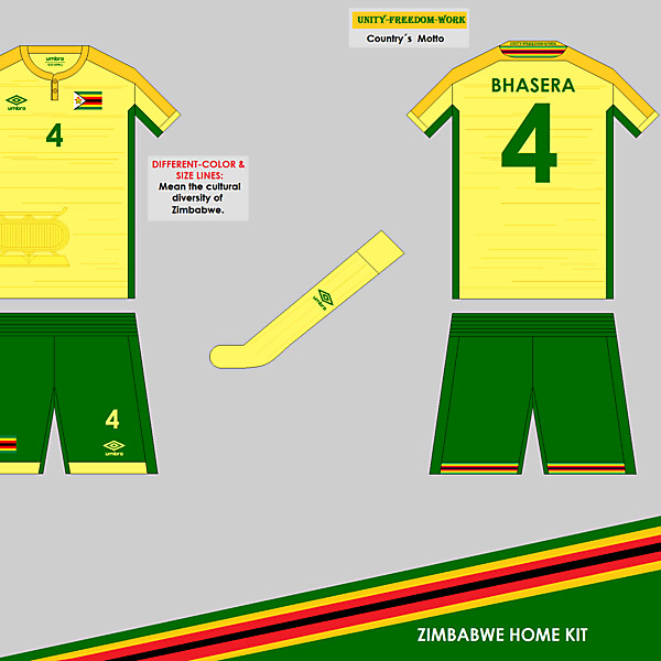 Zimbabwe Home kit - WC Competition