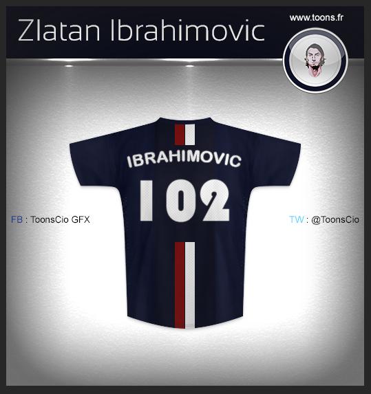 Zlatan Ibrahimovic 102 buts