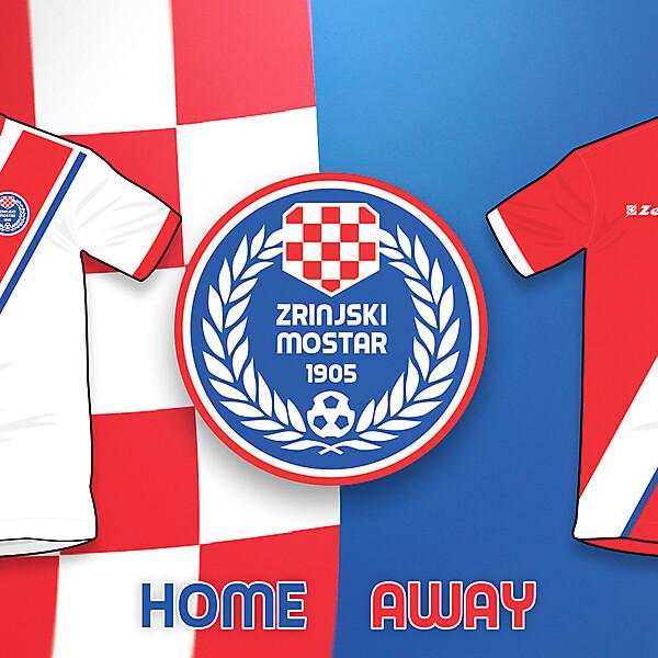 Zrinjski Mostar H/A kits