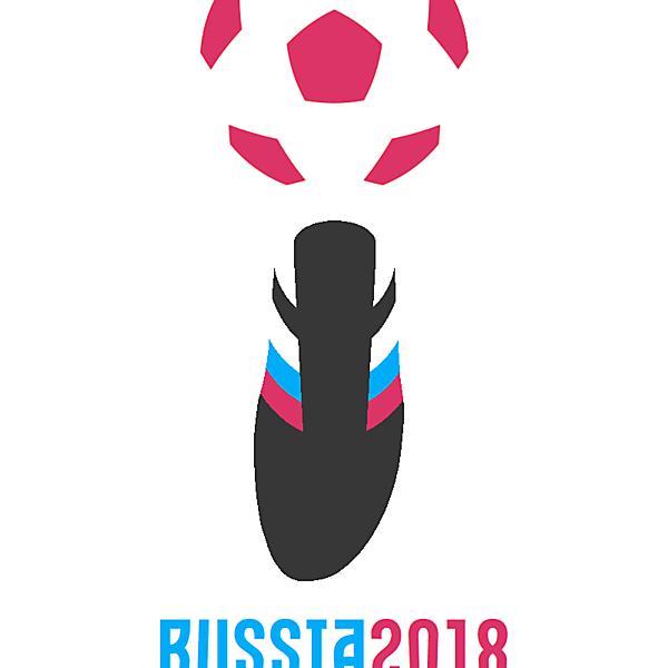 2018 Russia FIFA World Cup logo concept