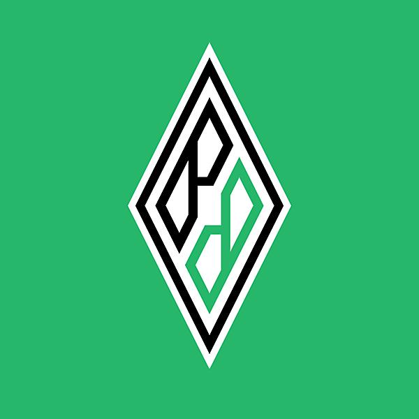 Borussia Moenchengladbach logo concept