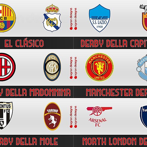 Club rivalries logo exchange.....