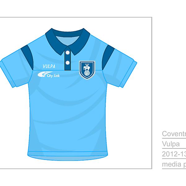 Coventry City Media Polo