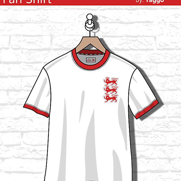 England Fan shirt