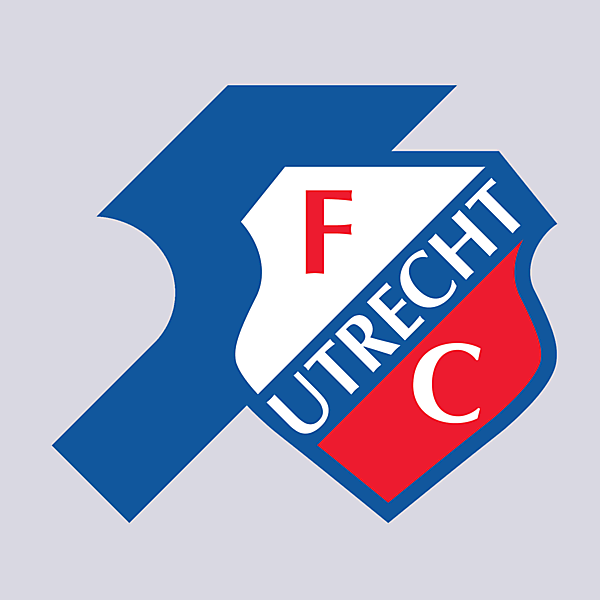 FC Utricht Fifty Years logo.