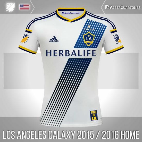 Los Angeles Galaxy 2015 / 2016 Home Shirt