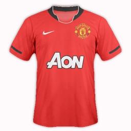 Manchester United 13/14 Season Kit Idea by Gordon60